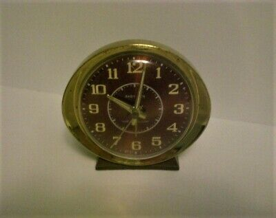 Westclox Baby Ben Alarm Clock Wind Up Vintage