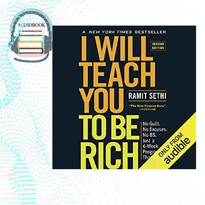I Will Teach You to Be Rich No Guilt No Excuses No BS Just a 6-Week