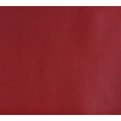 G634 Red Small Leather Grain Upholstery Grade Recycled Leather