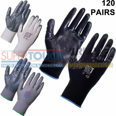 SCRUFFS Shock Impact Work Gloves Sizes L XL CE Rated Gel Padded Anti Vibration