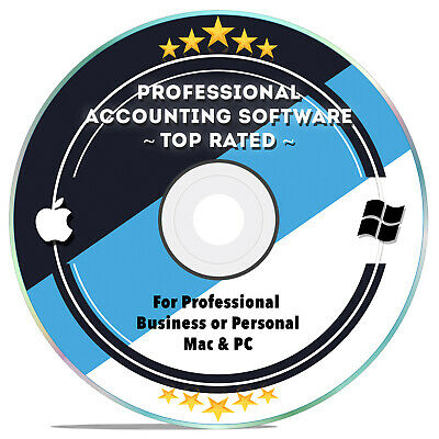 Accounting Software Personal, Small Business, Bookkeeping, Tax 2019 Windows MAC