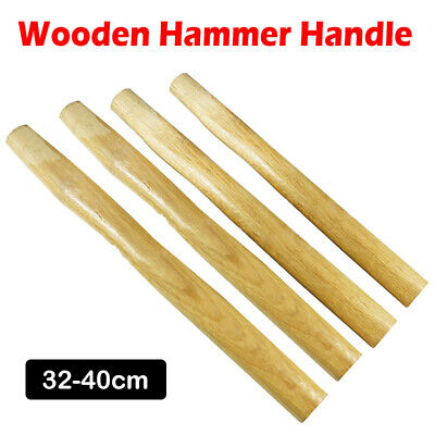 Solid Wooden Hammer Handle Shaft Replacement 32 35  37 40 cm