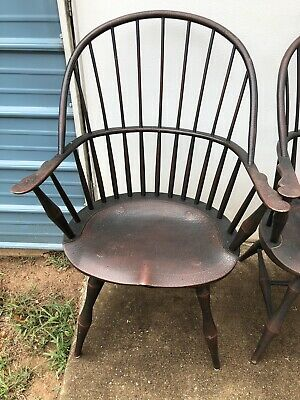 Vintage Windsor Chair from RIVERBEND LTD WEST CHESTER OHIO / BENNER WOODWORKING