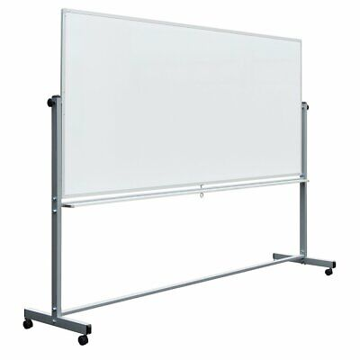 Luxor MB7248WW 72 x 48 -Inch Reversible Magnetic Dry Erase Mobile Whiteboard