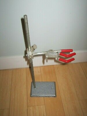 Lab Support Stand, ;LAB-LINE Vintage.  Sturdy with Clamp