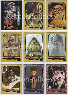 2013 Topps Star Wars Galactic Files Series Base Card 2 You Pick Finish Your Set