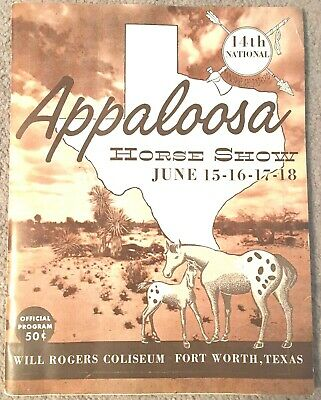 APPALOOSA NEWS, '61 Horse Magazine, book, REVEL Jr + SHAVANO