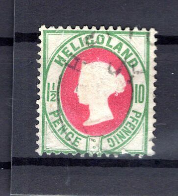 Helgoland 14c Perfectly Stamped + Signed 35eur B7182
