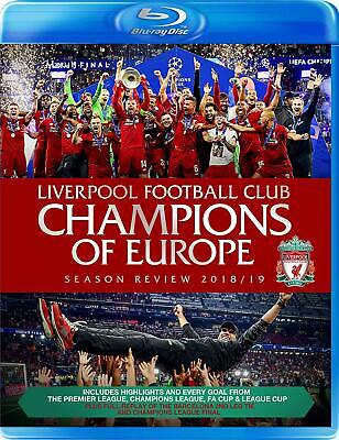 Liverpool FC: CHAMPIONS OF EUROPE! 2018/19 Review. [Blu-ray] 8th July PRE-ORDER!