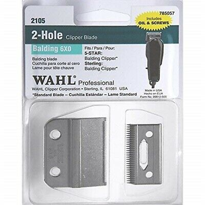 Wahl Balding Clipper New Replacement Blade Set*** 0.4mm * Model No: 2105 - Set