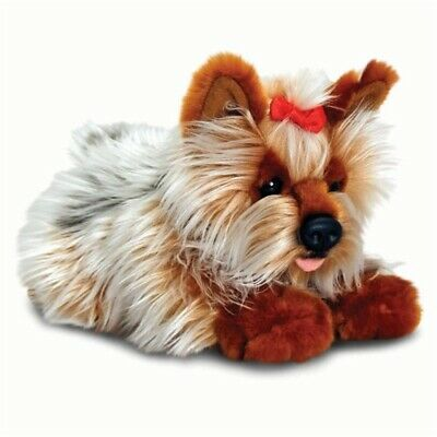 Keel Toys 30cm Yorkie - Soft Dog Plush Terrier 30cm New Yorkshire