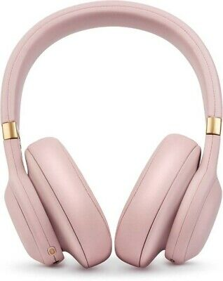 JBL E55BT Quincy edition Bluetooth Headset with Mic  Pink & Black Over the Ear