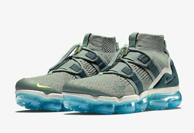 NIB NIKE Mens AIR VAPORMAX FK UTILITY AH6834 300 CLAY GREEN LIFESTYLE SHOES $225