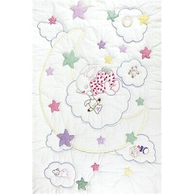 Crib Quilt Tops Wh Dreamland - Stamped White Top x Inches