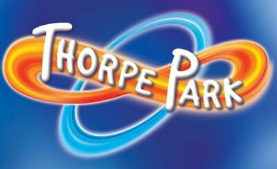 Thorpe park Tickets for Wednesday 4th September  little rectangle ones