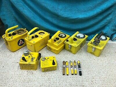 Civil Defense Radiation Meter Geiger Counter Detector Dosimeter Charger Pen