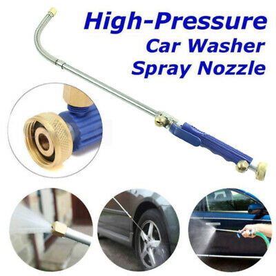 Jet High Pressure Water Hydro Washer Wand Nozzle Spray Power Gun Attachment Hose
