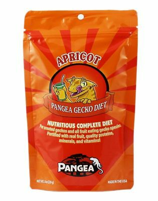NEW LABEL Pangea COMPLETE Fruit Mix Banana Aprico Crested Leachie Gecko Diet 2oz