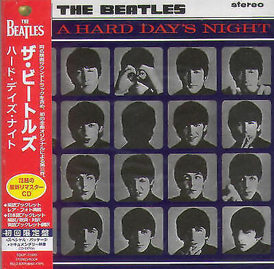 THE BEATLES - A HARD DAYS NIGHT ( MINI LP AUDIO CD with OBI + BOOKLETS )