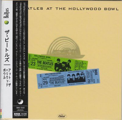 THE BEATLES - AT THE HOLLYWOOD BOWL ( MINI LP AUDIO CD with OBI )