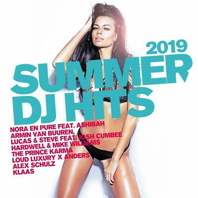 SUMMER DJ HITS 2019 ( Neuer house Sampler 2019 )  2 CD   NEU & OVP 14.06.2019