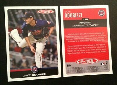 2019 Topps Total Wave 2 (Only 753 Made) JAKE ODORIZZI Twins #110