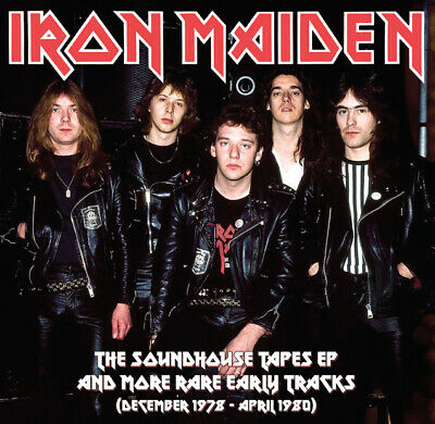 IRON MAIDEN The Soundhouse Tapes EP & More Rare Early Tracks 1978-1980 LP VINYL