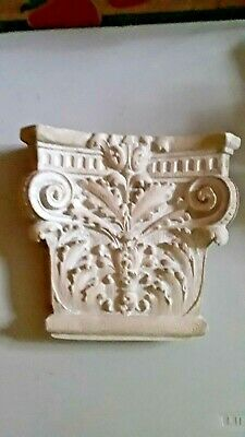 2 Architectural PLASTER CORBELS  Column Front Look