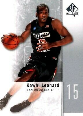 Kawhi Leonard Sp Rc 2011-12 Upper Deck Sp Authentic Spurs Raptors Rookie Hot!