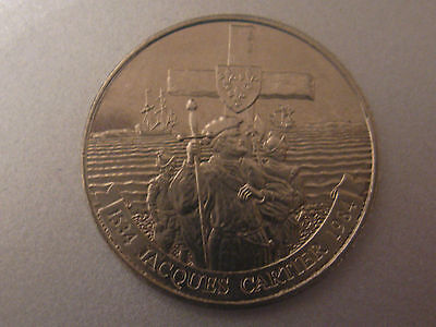 1984 Canada Commemorative Dollar Jacques Cartier_1st French Explorer.