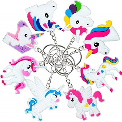 Key Ring Clip for Backpack Decor 32 Pack Rainbow Unicorn Keychains Set for Girl /& Boy Unicorn Party Supplies 8 Designs Goody Bag Stuffed Toys for Students Christmas CZL YWJ-KC-3201 Extra Mini Golden Gift Bag