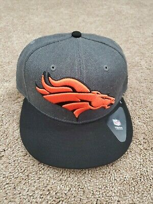 low priced 5dfa4 17974 Denver Broncos NFL New Era Heather Graphite 9fifty,Snapback,Cap,Hat   27.99