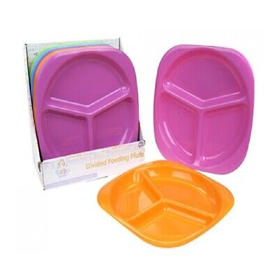 Babies Divided Dinner Plate - Kids Toddler Feeding