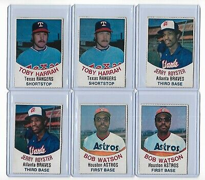 1977 Hostess Mixed Baseball card lot- YOU PICK THE CARDS- Hall of Famers!!