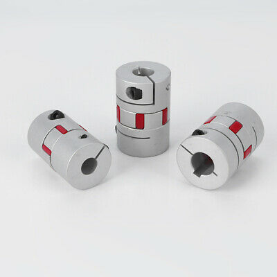 18 Sizes Flexible Shaft Coupling CNC 3D Printer Stepper Motor Connector Coupler