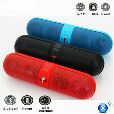 Fashion Portable Pill Wireless Bluetooth Outdoor Speaker Supports FM TF USB RRM