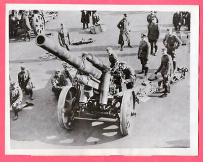 1936 German 15 cm sFH 18 ? Heavy Field Howitzer Cologne Germany News Photo