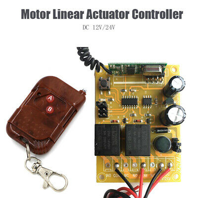 12V/24V Motor Linear Actuator Controller Wireless Remote Forward Reverse Control