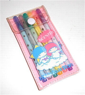 LITTLE TWIN STARS 1984 Sanrio Japan scented color pen - pennarellini colorati