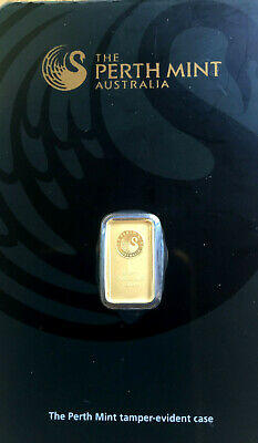 1 x 1g sealed bar pamp suisse/perth mint/hearaus  any x 1 bar