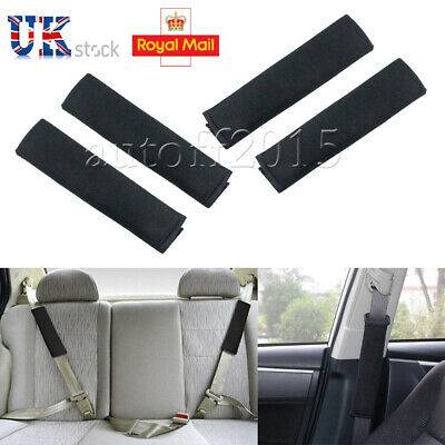 2PCS Car Safety Seat Belt Soulder Strap Pads Covers Cushion Rucksack Bag Comfort