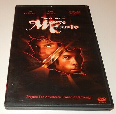 The Count of Monte Cristo  Jim Caviezel Guy Pearce (DVD, 2002)  WS