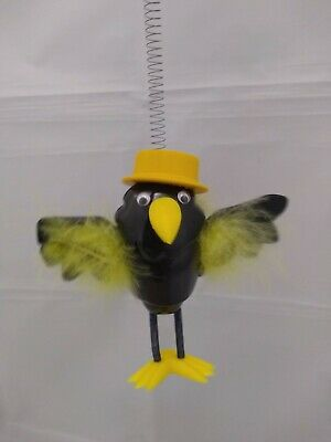 Vintage Wupper Design - Mr Crow - Hanging Ceiling Toy - Spring Mobile - in box!!