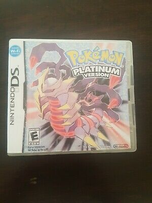 Pokemon: Platinum Version with Game and Case (Genuine)