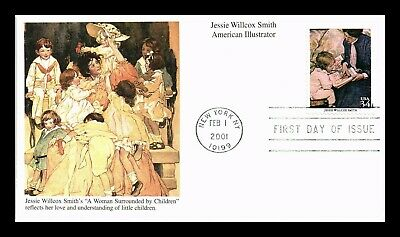 Dr Jim Stamps Us Jessie Willcox Smith American Illustrator Fdc Cover Mystic