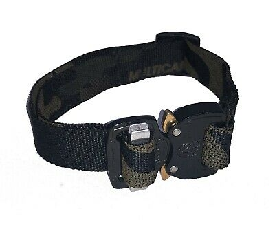 UKOM AllyKat Cobra Buckle Cat Collar - Crye Multicam Black - Camouflage - Army