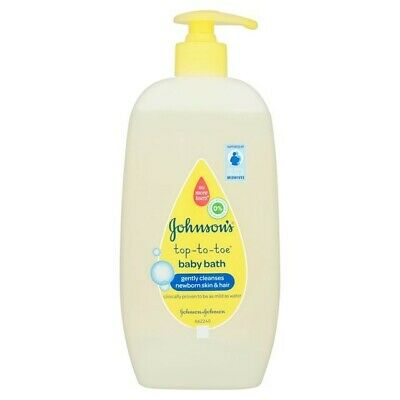 Johnsons top to toe baby bath 500ml Hypoallergenic No More Tears No Parabens