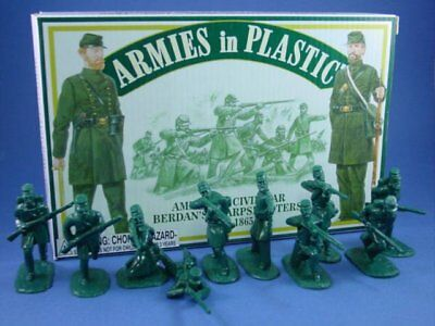 ARMIES IN PLASTIC 5483 RUSSIAN CIVIL WAR RED ARMY 20 Toy Soldiers MIB FREE SHIP