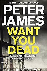 Want You Dead (Roy Grace), James, Peter, Used; Acceptable Book