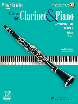 MOZART CLARINET CONCERTO in A KV622 Music Minus One Play